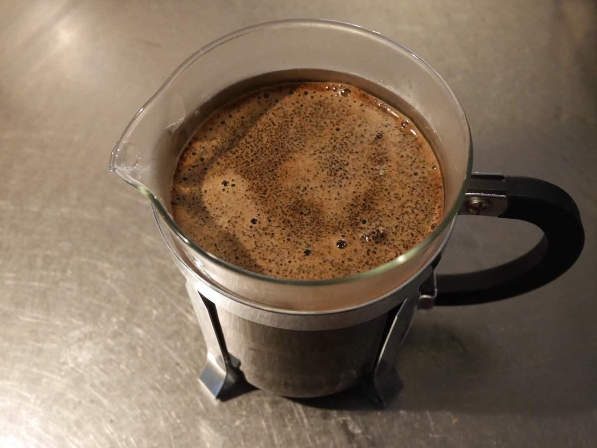 Lion Coffee Diamond Head Espresso をフレンチプレスで頂いた→最高に美味しい